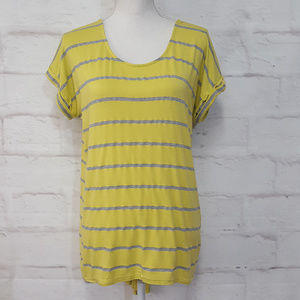 3/$30 Anthropologie Striped Swing Top S